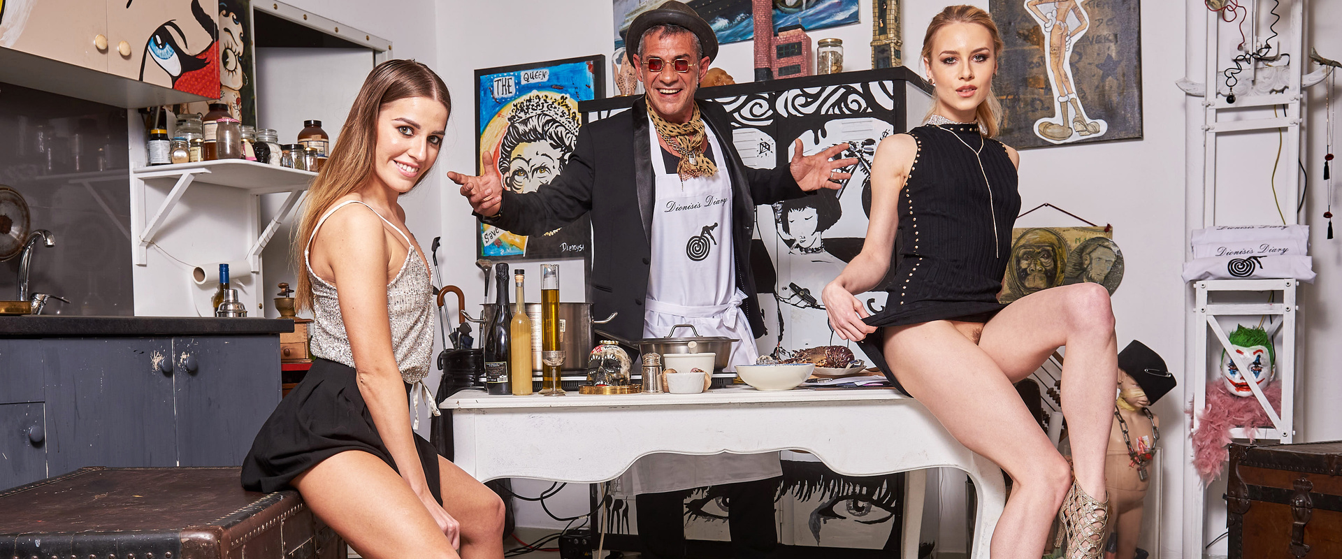 Celebrity Chef Dionysis' Diary