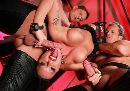 My MILF aunt in a BDSM orgy