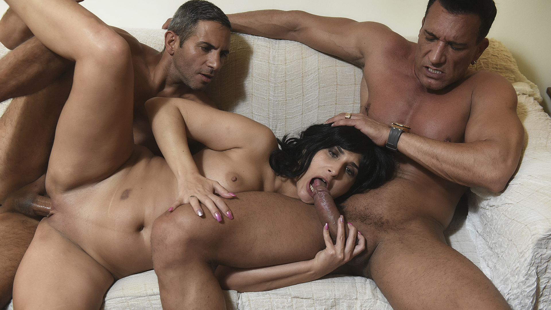Threesome with my boyfriend and his best friend