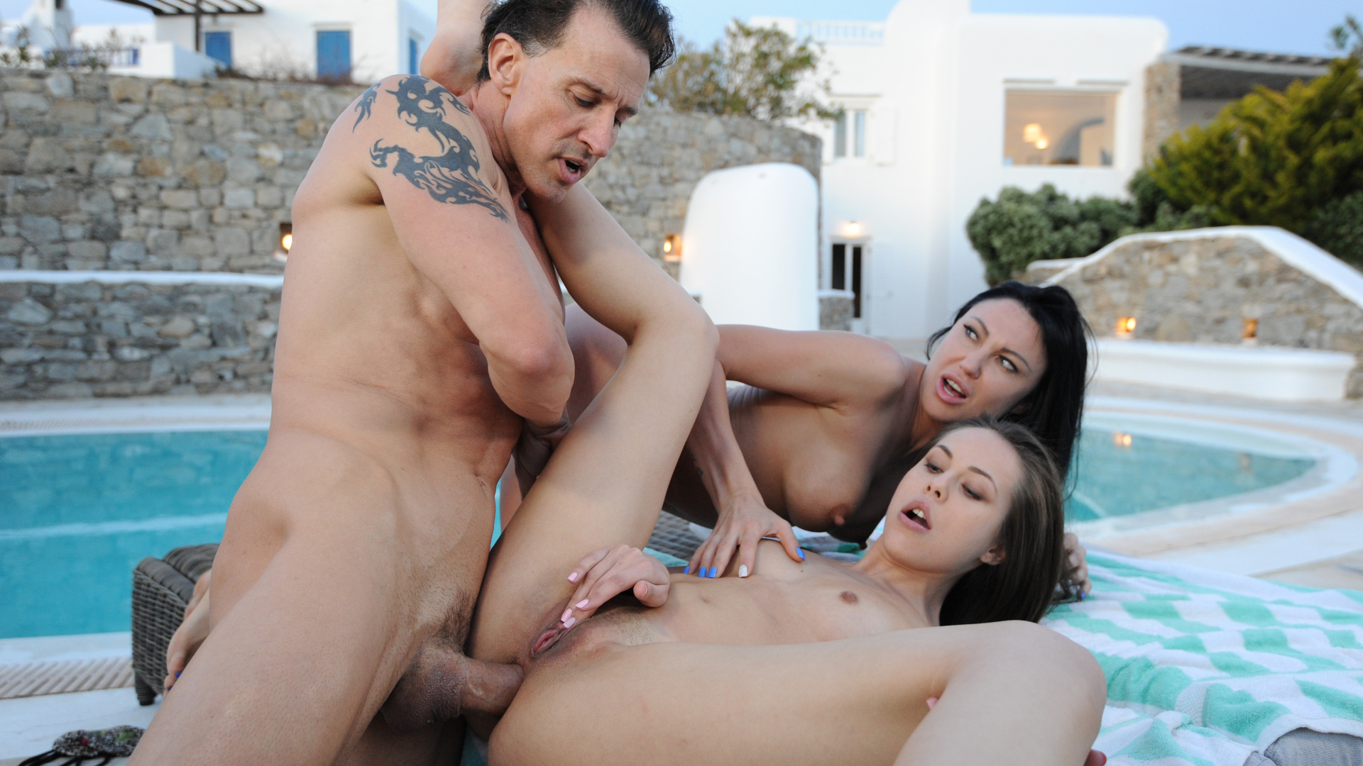 Banging the 19-year-old neighbor with my wife