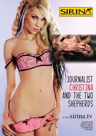 Journalist Christina and the two shepherds