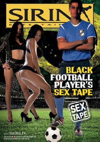 Black football player's sex tape