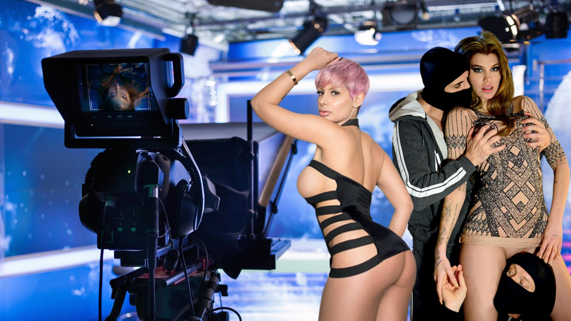 Punishing the TV hostess